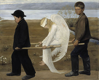 340px-The Wounded Angel - Hugo Simberg